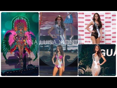 Ana Luisa Montufar Miss Universe Guatemala 2014