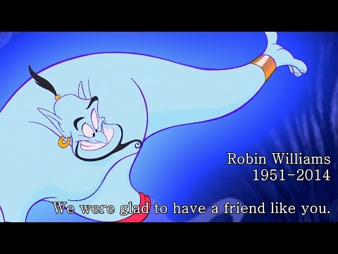 R.I.P Robin Williams 1951-2014 'Glad We Had A Friend Like You'