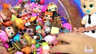 #LOL Dolls КУКЛЫ ЛОЛ МОЯ КОЛЛЕКЦИЯ BOSS BABY Босс Молокосос #Пупсики #Сюрпризы Распаковка Игрушек