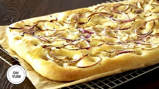 Rosemary Onion Focaccia | Oh Yum with Anna Olson