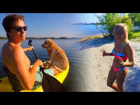 EXPLORING THE PRIVATE ISLAND ON OUR LAKE! (Super Cooper Sunday #98)