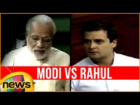 Rahul Gandhi Makes Fun of Make in India Logo | Rahul Gandhi Vs Narendra Modi | LokSabha | Mango News