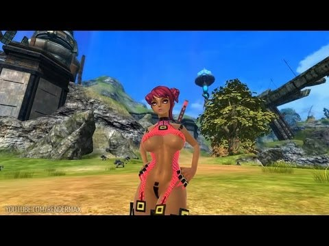 Queens Blade (scarlet Blade) - Low Lvl Gameplay (korea) - Hd video