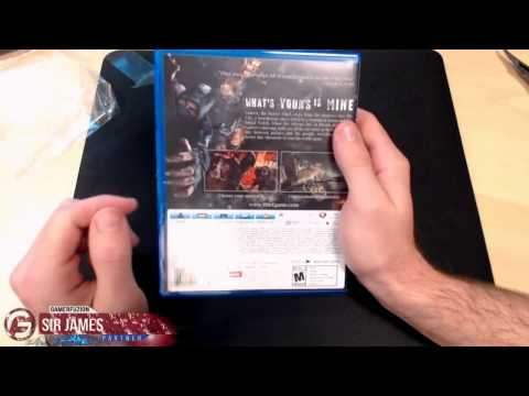 Thief PS4 Unboxing Early Copy: GamerFuzion Partnership Perk