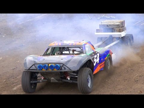 RC ADVENTURES - Power Pulling / Weight Sled - 1/5 Scale Radio Control Gas Powered Trucks