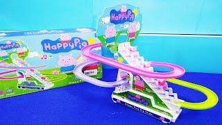 Đồ chơi trẻ em CẦU TRƯỢT HEO PEPPA PIG LEO THANG