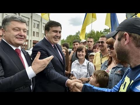 Saakashvili Takes the Bus on the Road to Reform Ukraine