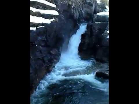 Водопад в Сагелве (Sagelva Hydropower Center), Норвегия