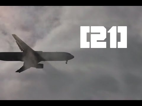 [21] Las Vegas Sands / Boeing 767 / Landing at Hamburg Airport