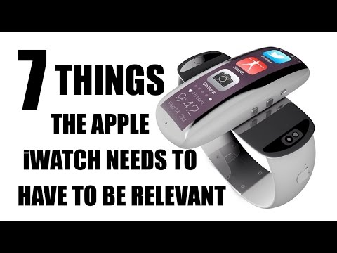 7 Things The Apple iWatch Has To Have To Be Relevant