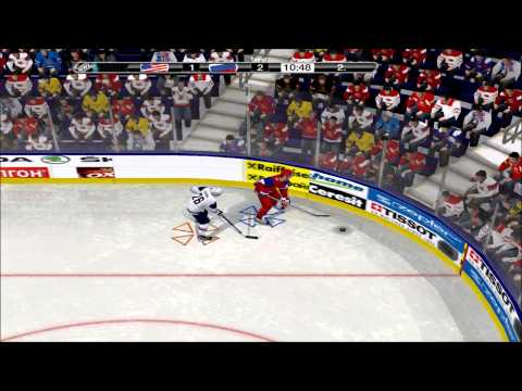 IIHF Ice Hockey Championship 2013 - USA vs Russia - 8:3