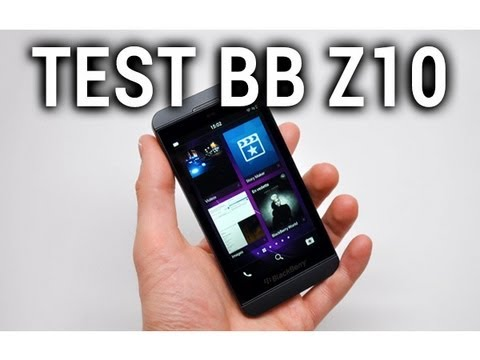 Test du BlackBerry Z10 - par Test-Mobile.fr