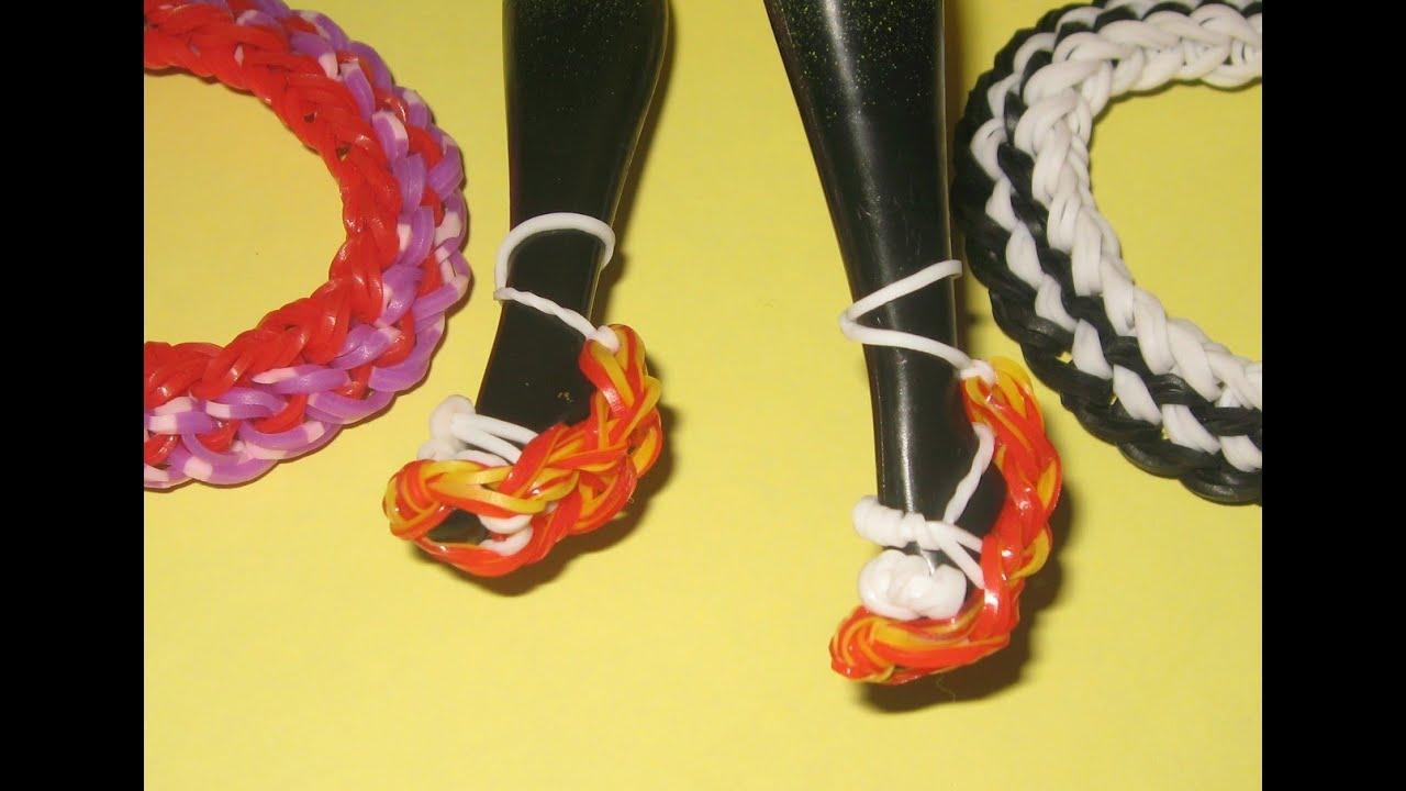 Как сделать для кукол наушники из резинок на