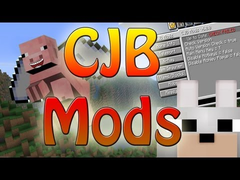 Minecraft Mods - CJB Mods 1.3.2 Review and Tutorial
