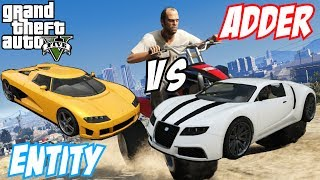 GTA 5 - Adder Vs Entity XF | #2 (GTA V)