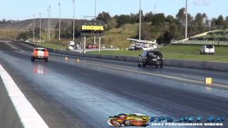 SUPER SEDAN DRAG RACING ROUND 4 SYDNEY DRAGWAY 21.6.2014
