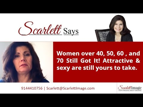 Women over 40, 50, 60 , and 70 Still Got It! Attractive & sexy are still yours to take.