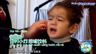 [Vietsub] Baby let me go mùa 3: Jackson cắt tóc