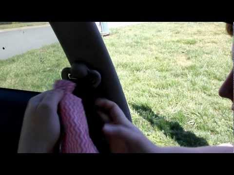 How to: Fix Slow Retracting Seat Belt Honda Civic