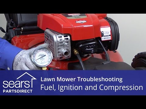 Lawn Mower Won't Start: Fuel. Ignition and Compression Problems