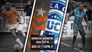 Mississauga MetroStars vs Utica City FC