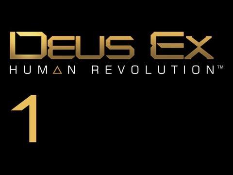 Прохождение Deus Ex: Human Revolution (с живым комментом) Ч. 1