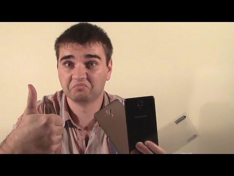 Видео обзор на смартфон Lenovo S820