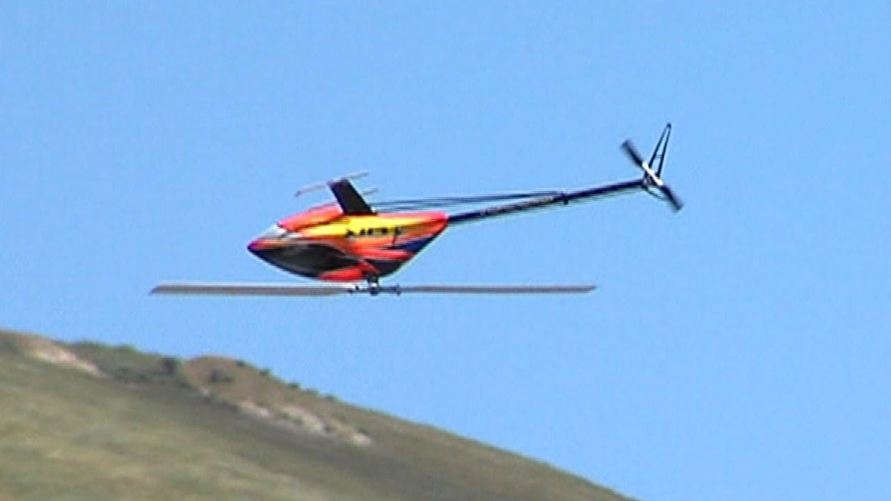 3D RC helicopter show at SCCMAS