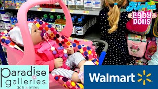 🌼 Paradise Galleries - Layla Went Shopping At Walmart With Us! 🛍 Shopping Clothes For Reborn Baby.