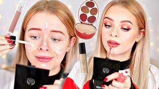 FULL FACE DRUGSTORE FIRST IMPRESSIONS- NEW MAKEUP YAY | sophdoesnails