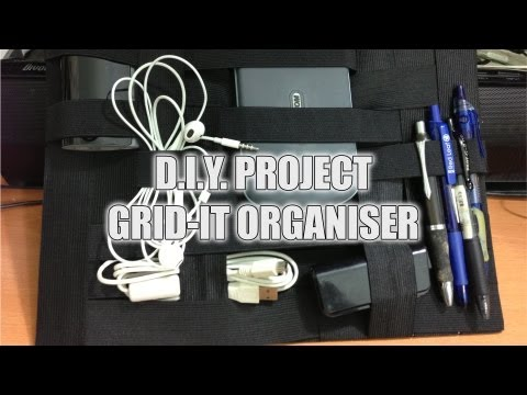 DIY: How To make a Grid-It Organiser