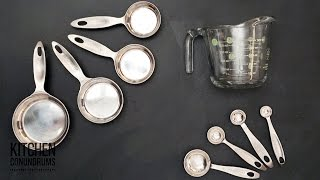 How to Measure Wet and Dry Ingredients - Kitchen Conundrums with Thomas Joseph