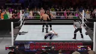 WWE  Battleground Triple Threat Match 2016