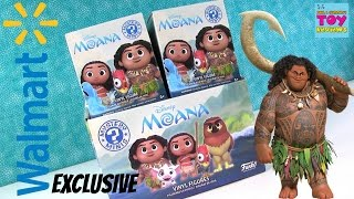 Moana Walmart Exclusive Disney Funko Mystery Minis Full Box Opening | PSToyReviews