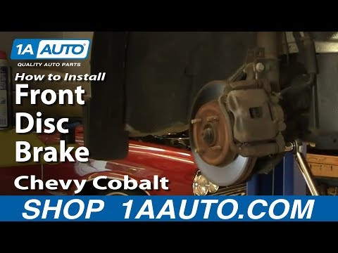 How To Install Replace Front Disc Brakes Chevy Cobalt Pontiac G5 05-10 1AAuto.com