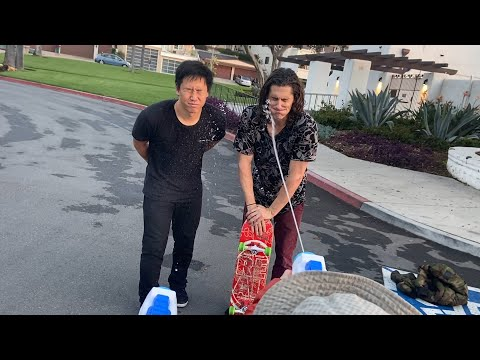JASON PARK VS WILLIAM SPENCER - WATER PUNISHMENT GAME OF SKATE