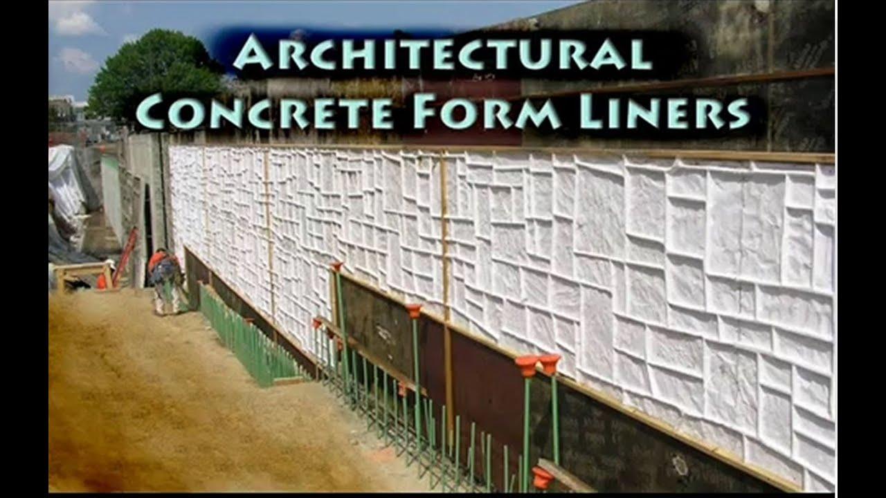Greenstreak Architectural Concrete Form Liner Slideshow