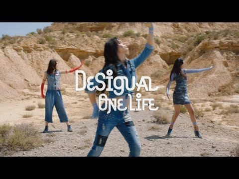 Desigual One Life – Exotic Jeans AW16 retronew