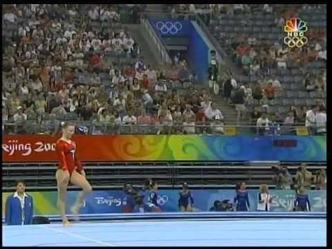 Bridget Sloan (USA) : 2008 Beijing Olympics : Qual FX