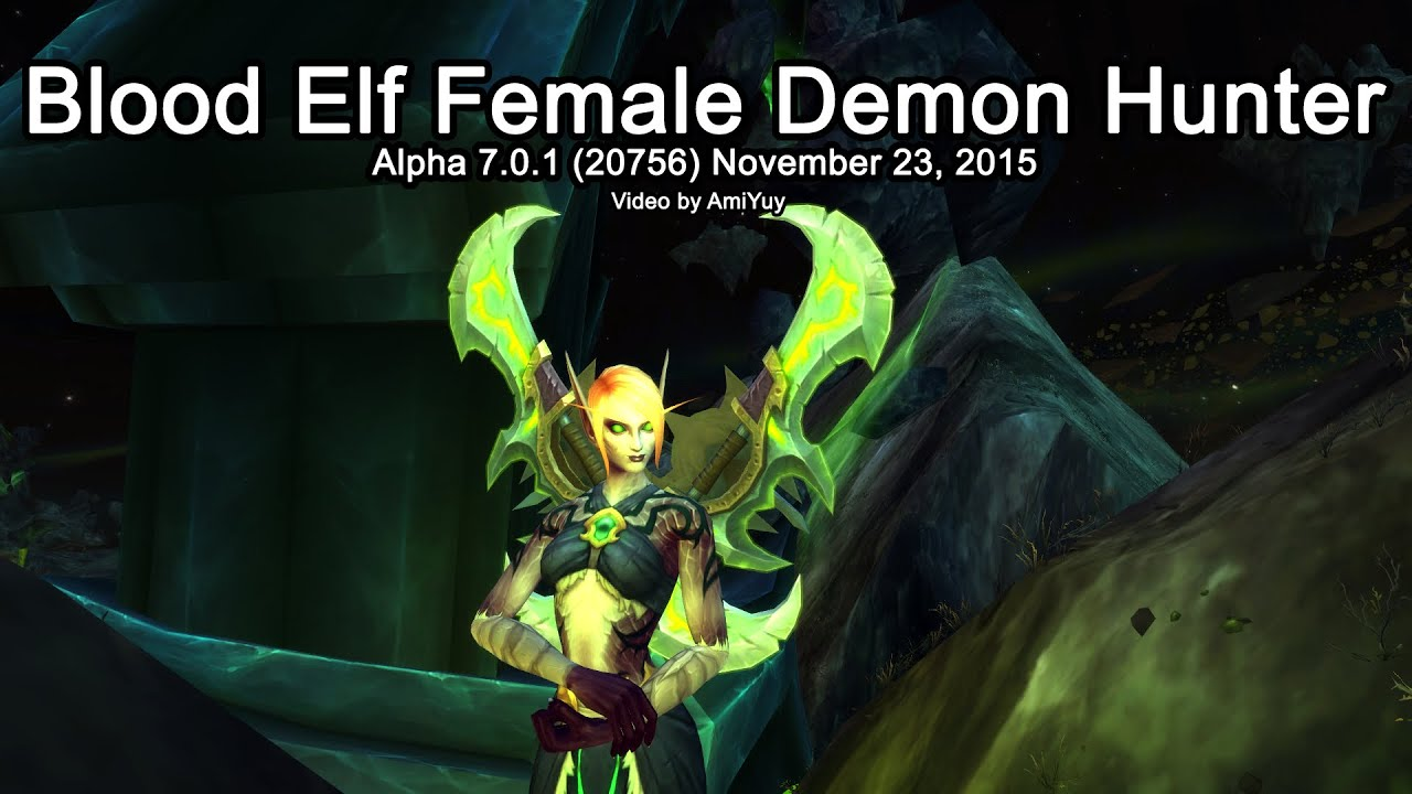 World of Warcraft blood elf hunter nude movies