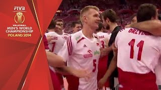 Poland wins the FIVB Men's World Championship