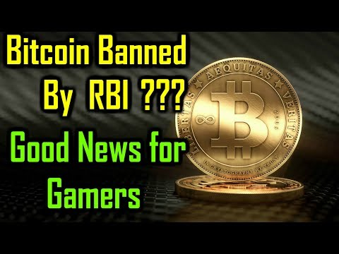 Bitcoin Crashed after RBI's statement !!! Good news for Gamers [Hindi]