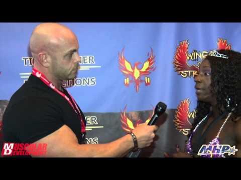 Margie Martin's Post-Win Interview | IFBB Wings of Strength Rising Phoenix 2015