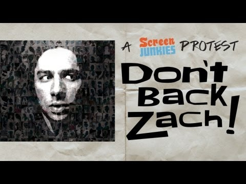 A Screen Junkies Protest Don't Back Zach!