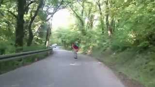 Milos Rajic - 50km/h downhill Raw Run - Belgrade Kosutnjak