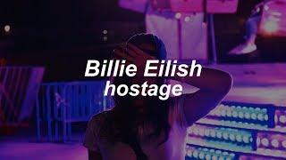 hostage // Billie Eilish (Lyrics)