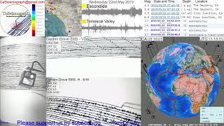 LIVE EARTHQUAKE STREAM TODAY