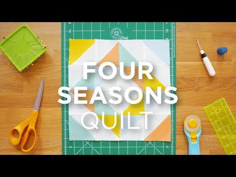 Quilt Snips Mini Tutorial - Four Seasons Quilt