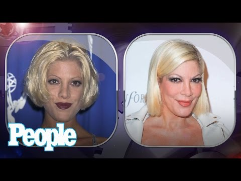 Tori Spelling's Evolution of Looks | Time Machine | PEOPLE