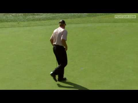 Shot of the Day: Steve Stricker gets a lucky bounce at TPC Boston Video